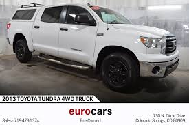 2013 Toyota Tundra 4WD Truck Stock # E1072 For Sale Near Colorado ...