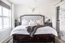 Rustic Modern Master Bedroom Reveal and Sources Bless er House