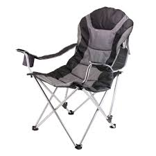 Coleman Oversized Padded Quad Chair Side Cooler by Camping Chairs Camping Furniture The Home Depot