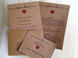 Cheap Wedding Invitations Online Australia Lovely Rustic 3 Part Set Just AGBP2 Each And