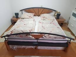 schlafzimmer bett anthrazit massiv in 73257 köngen für 90