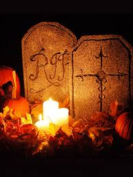 Diy Halloween Wood Tombstones by Halloween Party Decorating Ideas Spooky Decor Arafen