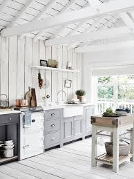 Photo Of A Rustic Kitchen In London