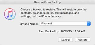 How to extract and restore contacts from iTunes backup