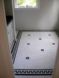 white black dot hex floor tile search color schemes