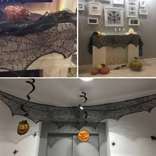 Halloween Fireplace Mantel Scarf by Halloween Mantel Scarf In Collectibles Ebay
