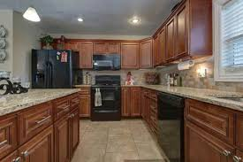Kitchen Color Ideas With Cherry Cabinets What Color Paint To Tone The Cherry Cabinets