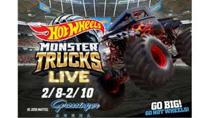 100 Monster Trucks Crashing Hot Wheels Live To Come To Bloomington Next Year