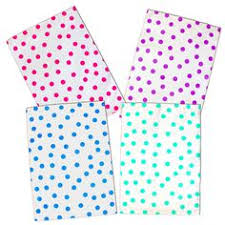 Decorative Flat Poly Mailers by 20 9x12 Inch Pink Polka Dot Poly Mailers Flat Poly Mailing