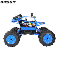 Hot! OCDAY RC Car 1:14 Water And Land Truck Big Rubber Tire Electric ...
