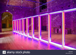 Dan Flavin American Minimalist Artist Famous For Creating Sculptural Objects And Installationsspace Filling Installations