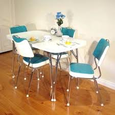 Retro Kitchen Table Sets For Dining And Chairs Fascinating
