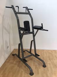 jordan roman chair leg raise chin dip multi station commercial