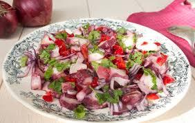 cuisiner poulpe frais salade de poulpe à la portugaise les filles à table
