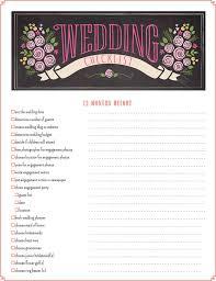 Printable Wedding Checklist Best 25 Planning