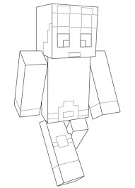 Click To See Printable Version Of Minecraft Dantdm Coloring Page