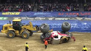100 Monster Trucks Cleveland Jam Full Freestyle Feb 17 2018 YouTube