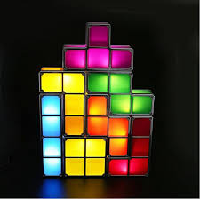 Tetris Stackable Led Desk Lamp India by 2018 Led Stackable Desk Lamp Plastic Night Light Modern Creative