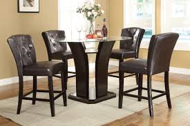 Round Dining Room Sets by Dining Tables Outstanding High Chair Dining Table Counter Height
