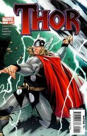 Cover Of Thor Vol 3 1 Sept 2007 Showing The Characters Redesigned Look Art By Oliver Coipel