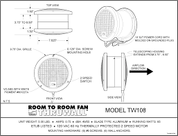 ThruWall Specification Drawing