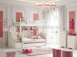 2013 modern barbie pink bunk bed set for girls is made by e1 mdf
