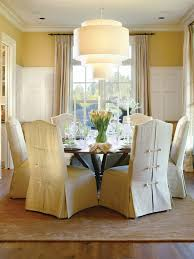 Alluring Design Dining Room Chair Slip Covers Ideas Best Slipcovers Remodel Pictures