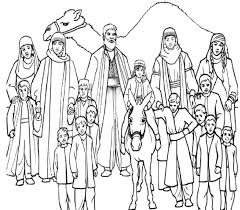 12 Sons Of Jacob Coloring Pages By Matthew