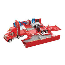 Disney Cars Mack Truck Playset - £23.00 - Hamleys For Toys And Games Disney Pixar Cars Mack Truck Hauler Lightning Mcqueen Amazoncom Disneypixar Action Drivers Playset Toys Games Cstruction Videos 3 Buy Online From Fishpondcomau Dan The Fan 2 2010 New In Package Pixar Mack Truck Playset Hauler For Children Kids Car Xl Ft Store Semi Carrier Dj Byrnes Wash Cars Youtube Toy Mcqueen Story