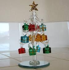 Mini Crystal Christmas Tree With Gift Box Ornaments LSArts Amazon Dp B001FD9DP4 Refcm Sw R Pi 7OVRub0MGE40M