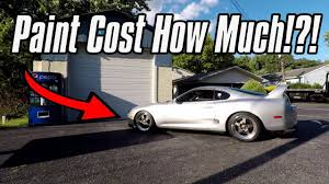 How Much Does It Cost To Paint A Toyota Supra? - YouTube How Much Should A Paint Job Cost Nastyz28com Color Chaing Car Paint Price Best Of Much Does A Vehicle Wrap Why You Should Or Not Get Your Painted In Mexico Part 3m Vinyl Our Jeep Jk Gets New Job Without The Cost Of Protection Film Rallyways Interior Interiors Price It To 3 Actual Average Dodge Diesel Truck Resource Forums Chevy Dealer Keeping The Classic Pickup Look Alive With This On Honda Civic