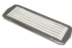 Non Skid Boat Deck Pads by Boat Deck Non Slip Step Pad Stainless Trim U2013 Boaterbits