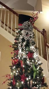 X Mas Tree Toppers Top Hat Topper Super Different From The Traditional Angel On Our Holidays