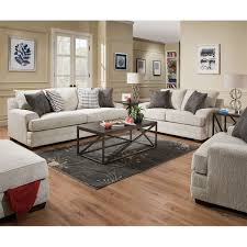 Calvin 5piece Top Grain Leather Modular Sectional Living Room Set