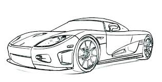 Classic Car Coloring Pages Printable For Kids Cars Sports