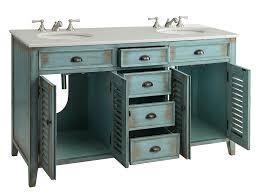 46 Inch Double Sink Bathroom Vanity by 60