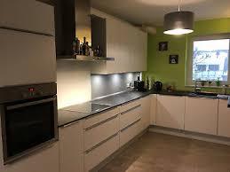 nobilia küche weiss matt blanco constructa neuwertig l form