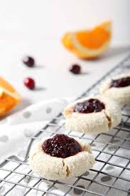 Orange Cranberry Cream Cheese Thumbprint Cookies The Speckled Palate