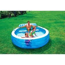 Inflatable Kiddie Pool Shrewd Large Hard Plastic Pools And Kid S At Throughout