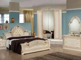 italienisches schlafzimmer komplett beige gold hochglanz neu