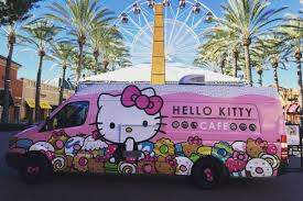 100 Truck Stop San Diego Hello Kitty Cafe Bringing Back Adorable Eats Next Month