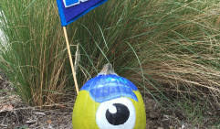 Mike Wazowski Pumpkin Carving Patterns by Easy Pumpkin Carving Ideas For Halloween Disney Family