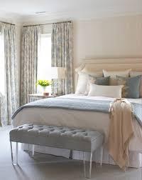 Blue Cream Bedroom Beach Style