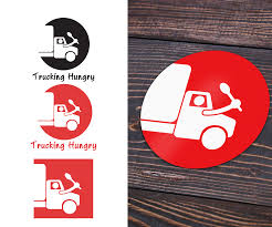 Bold, Playful, Business Logo Design For Trucking Hungry By Mr.harper ...