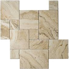 leaning towards this for floor 18 square tiles cut in half 9x18