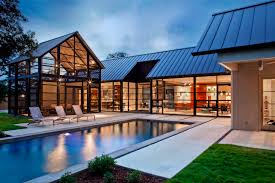 100 Glass Modern Houses Connected House Pool Pretty Beach Steel And