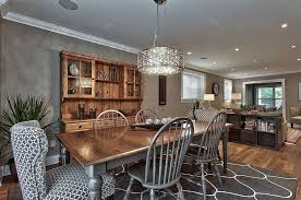 gorgeous silver painted wooden kitchen chairs and table with wood