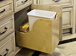 Cream White Plastic Combine Fiber Kitchen Trash Can Cabinet Cabinets Storage Drawers Half Models