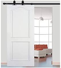schienen set für schiebetür eisen riemenscheibe zum aufhängen rolle für tür türsystem innentür badezimmer 183 cm 200 cm schwarz 200 cm