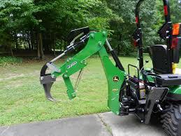 John Deere 1025r Mower Deck Adjustment by Goodies From Bro Tek Ripper U0026 Thumb For Jd 260 Bh